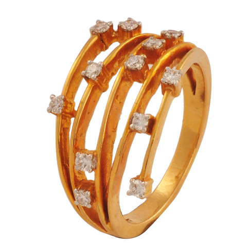 Sukirti Diamond Gold Rings - M Walters Jewellery