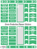 Planner Stickers- Productions