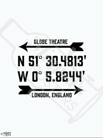 All the World's a Stage at the GLOBE Theater! Poster