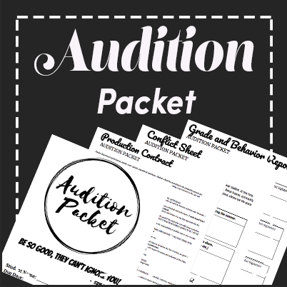 Audition Packet and Production Contracts
