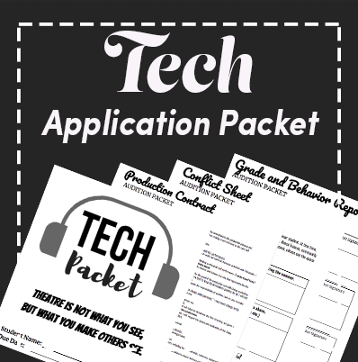 Tech Application Audition Packet and Production Contracts