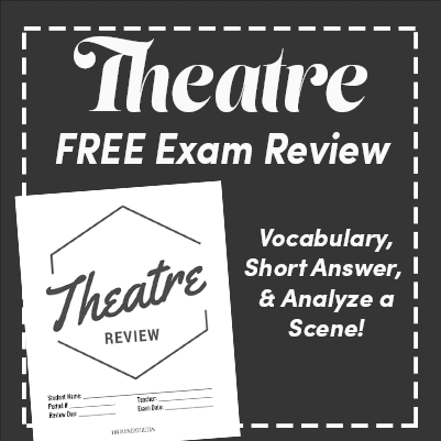 FREE Theatre Final Exam Review