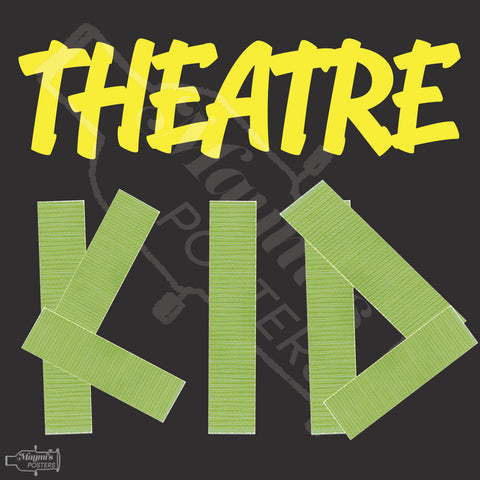 Theatre Kid Sticker