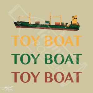 Toy Boat Sticker