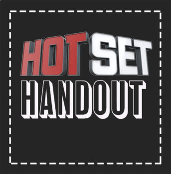EMERGENCY THEATRE SUB PLAN: Hot Set Video Guide