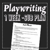 EMERGENCY THEATRE SUB PLAN: Playwriting