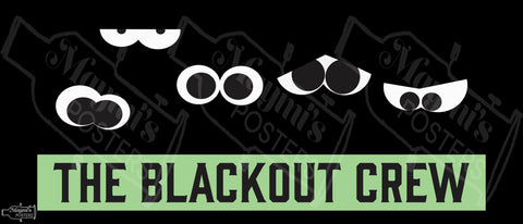 The Blackout Crew Sticker