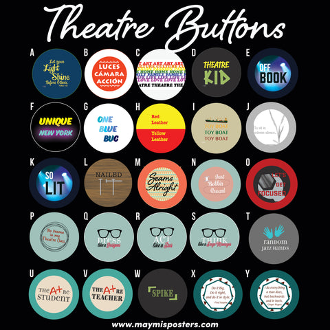 Theatre Buttons