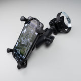 RAM® X-Grip® Large Phone Mount with ATV/UTV Rail Base