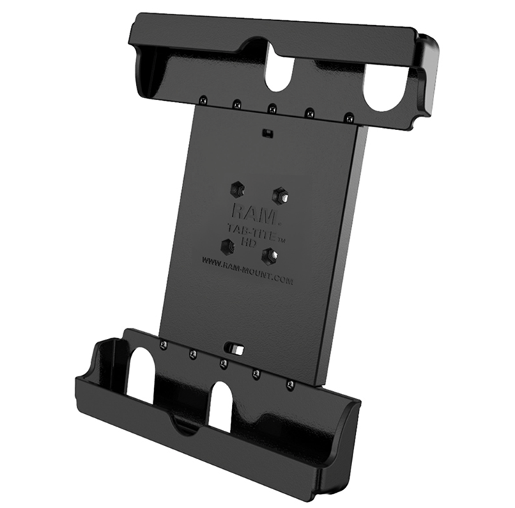 "RAM Tab-Tite™ Universal Spring Loaded Cradle for the iPad Air 1-2, Pro 9.7"" and new Pro 10.5"" (in LifeProof or some other cases)"