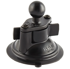 "RAM 3.3"" Diameter Suction Cup Base with (1"" B Ball)"