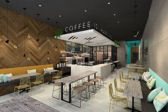 Reserva Coffee Roasters Interior Design