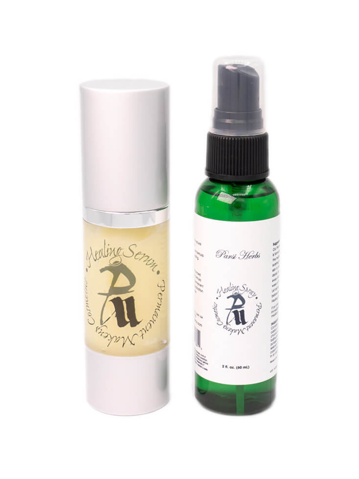 Two Step Skin Care Cream and Spray