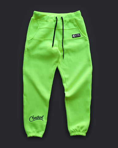 FLUID PANTS - HI-VIS GREEN - PREORDER