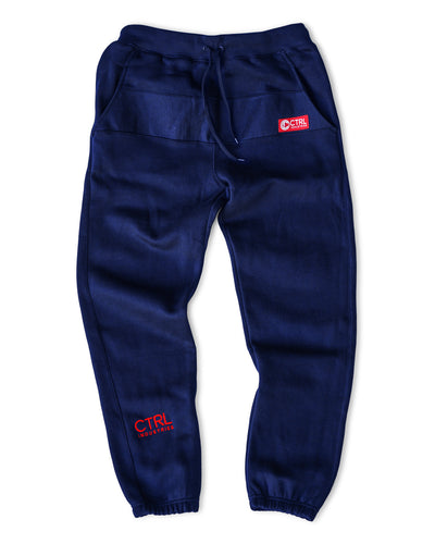 SIGNATURE PANTS - NAVY/RED