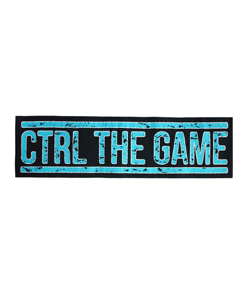 CTRL THE GAME (NAVAJO TURQUOISE ON BLACK)