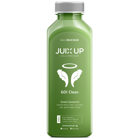 Juix Up Cold Pressed Juice Singapore Green Governor