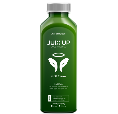 Juix Up Cold Pressed Juice Singapore Hail Kale