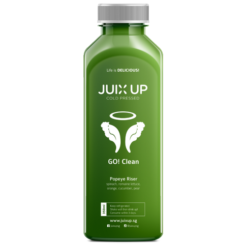 Juix Up Cold Pressed Juice Singapore Popeye Riser