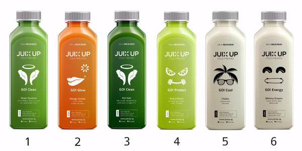 Juix Up Cold Pressed Juice Cleanse Programme Singapore