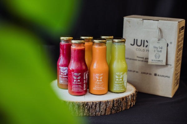 Super Series: Green Grin Cold-Pressed Juice Pack