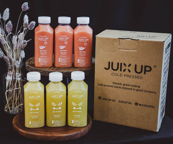 Go! Clean: Popeye Riser Cold-Pressed Juice Pack