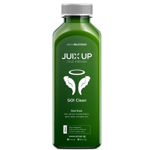 Go! Clean: Hail Kale Cold-Pressed Juice Pack