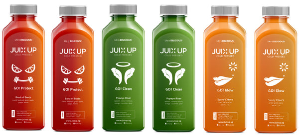 Customised Cold-Pressed Juice Pack