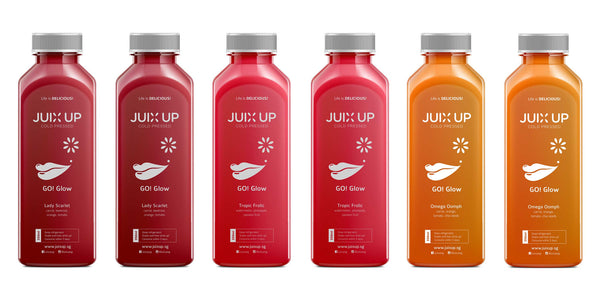 Go! Glow Cold-Pressed Juice Pack (Popular!)