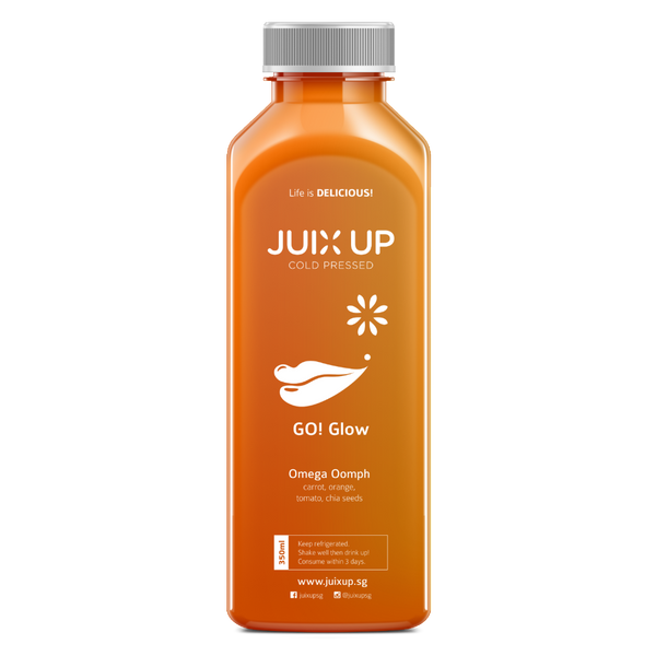Go! Glow: Omega Oomph Cold-Pressed Juice Pack