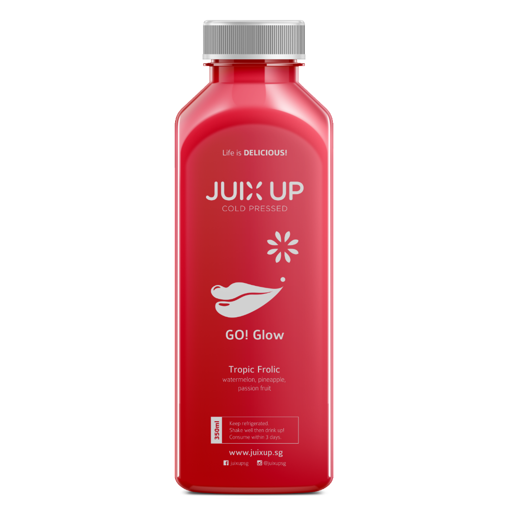 Go! Glow: Tropic Frolic Cold-Pressed Juice Pack