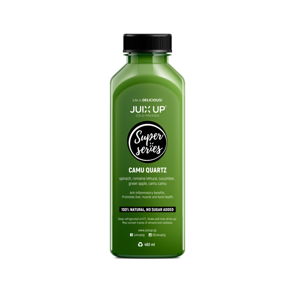 Super Series: Camu Quartz Cold-Pressed Juice Pack