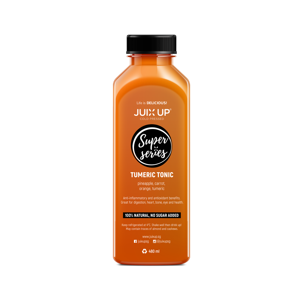 Super Series: Turmeric Tonic Cold-Pressed Juice Pack