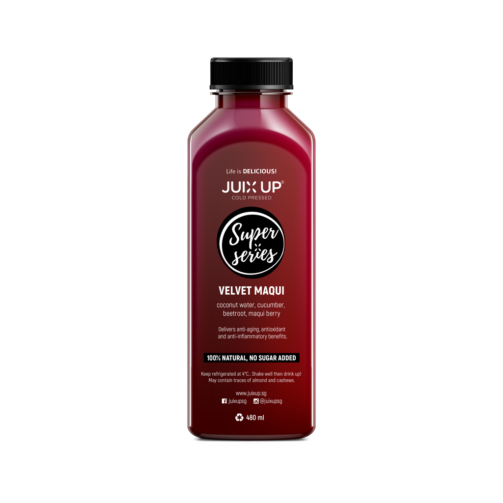 Super Series: Velvet Maqui Cold-Pressed Juice Pack