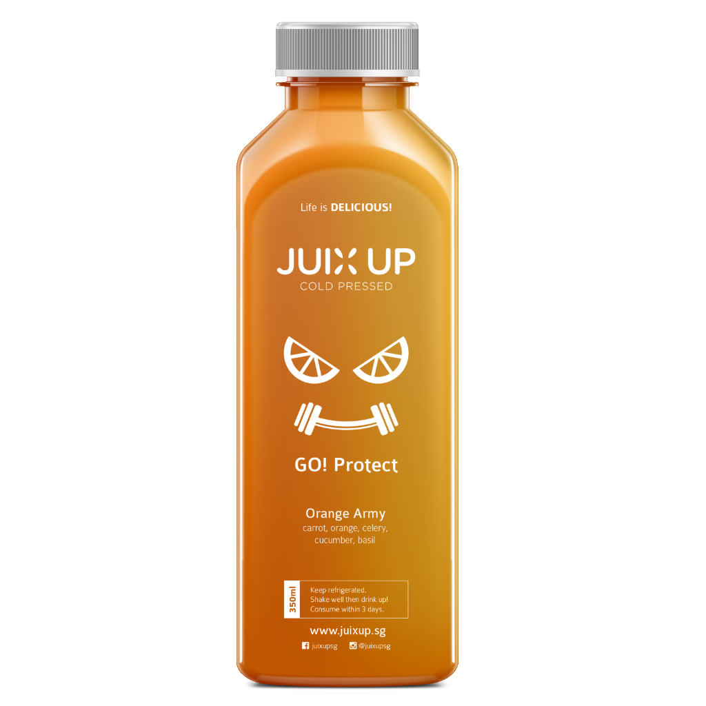 Go! Protect: Orange Army Cold-Pressed Juice