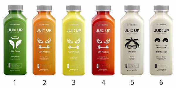 Juix Up Signature Juice Cleanse