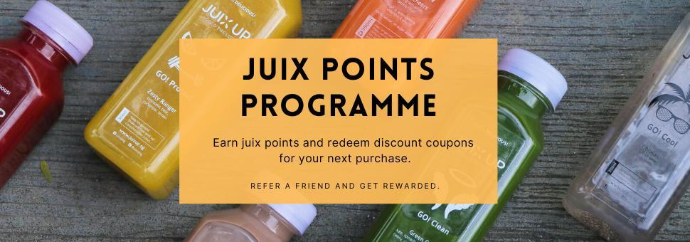 Juix Up Cold Pressed juices