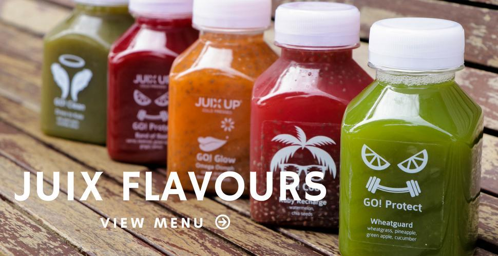 Cold-pressed juices for your events