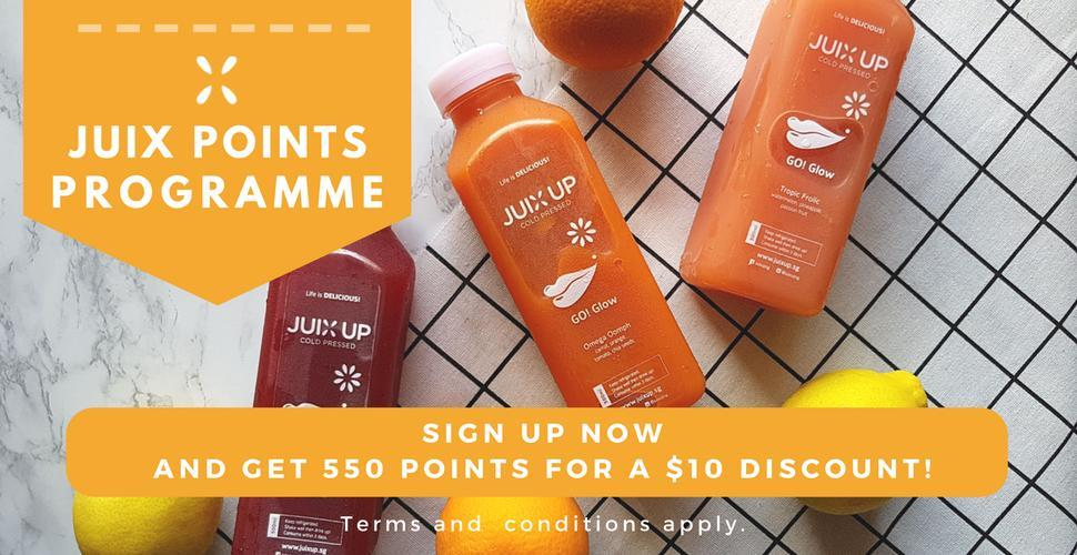 Juix Up cold pressed juices for events