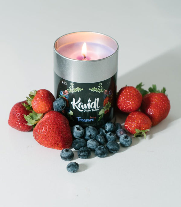 Afghan Hemp KANDL Collection - Smoke Odor Candles (13oz)