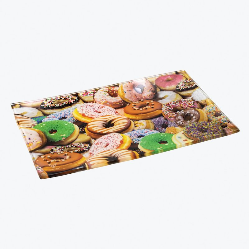 Donuts Glass Tray