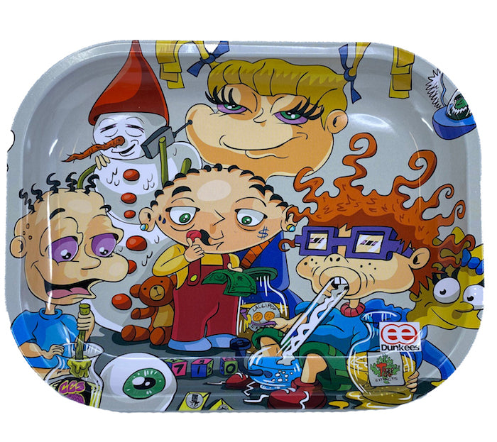 Original Art - Dunkees 'Kids Will Be Kids' Tray