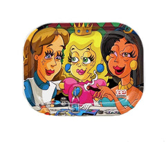Original Art - Dunkees 'Dabbed Out Princess' Tray