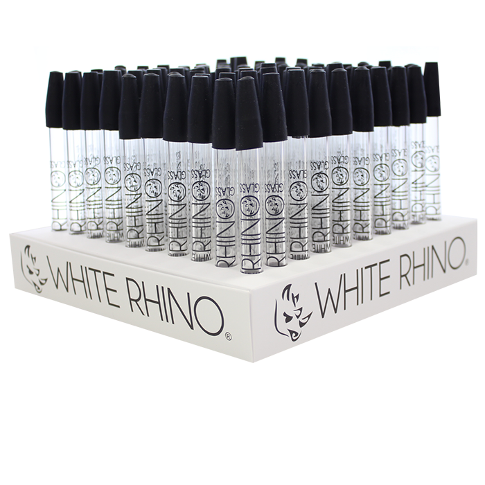 White Rhino - Pyrex Straw (100pcs)