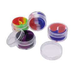 Silicone Container - Plastic Lined Split Jar