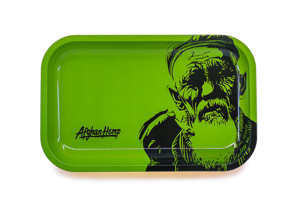 Afghan Hemp - Metal Rolling Tray