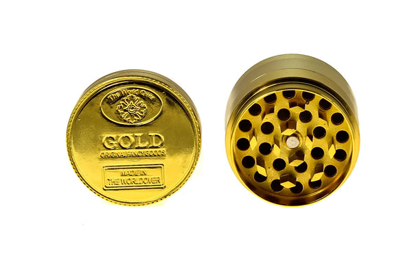 "Gold Coin Grinder - (2.2"") (55mm)"