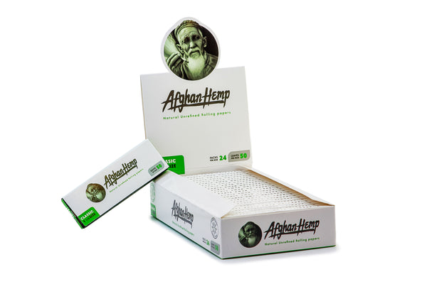 Afghan Hemp - Rolling Papers (King) (24pks)