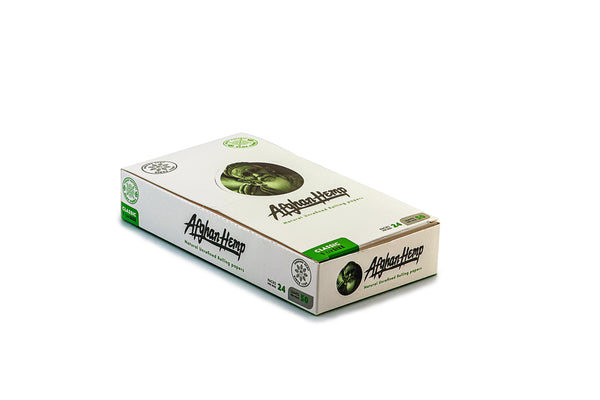 Afghan Hemp - Rolling Papers (1 1/4)(24pks)
