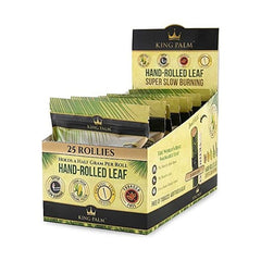 King Palm Super Slow Burning Wraps - 25 Rollie Rolls (8ct)